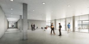 Erweiterungsbau BZZ Innenraum