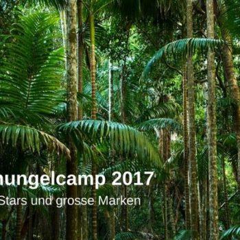 Dschungelcamp 2017 Marketing