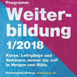 2018 1 Kursprogramm BZZ Cover Quad