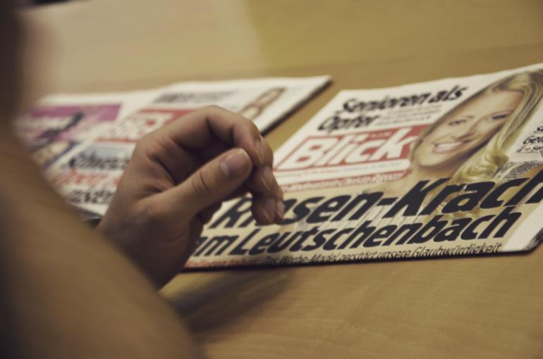 Schlagzeile des Tages: Krach beim Schweizer Fernsehen.