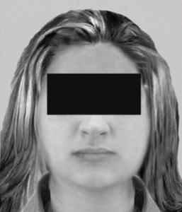 Mutmassliche Täter/innen werden mit schwarzem Balken «unkenntlich» gemacht