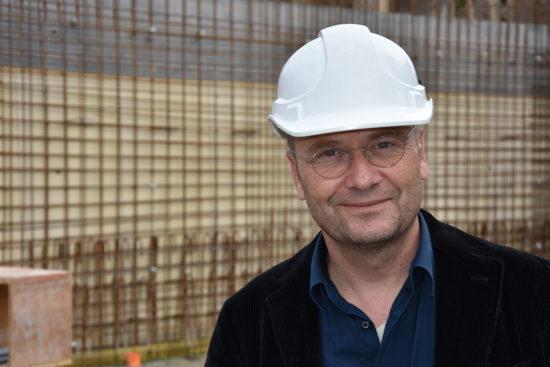 Matthias Schmidlin, Bauingenieur BZZ Erweiterungsbau 2017
