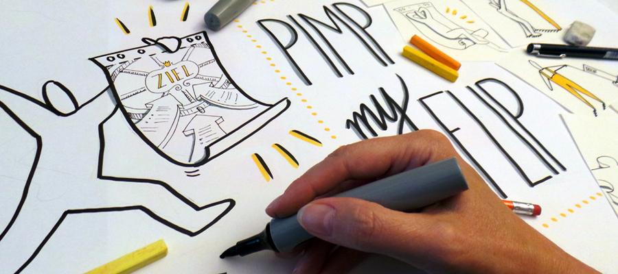 Visualisieren mit Flipcharts - Seminar am BZZ